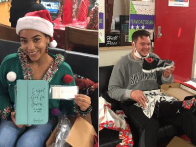 HC Brands & CIS Jacksonville Grant Winter Wishes to 10 Terry Parker Students